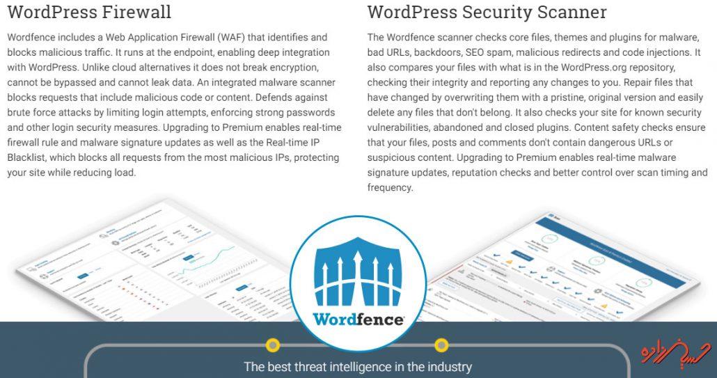 استفاده از افزونه wordfence برای افزایش امنیت وردپرس